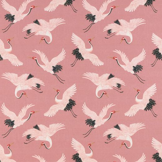 ORIENTAL BIRDS FABRIC